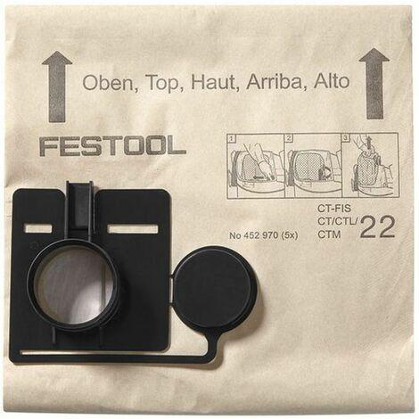 Sac filtre FIS-CT/CTL/CTM 22 /20 FESTOOL 494631