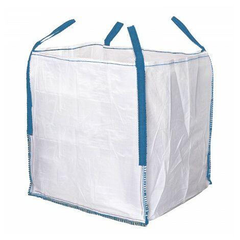 Sac obra big bag 90x90x90cm. charge maximale s'étendant sur 1.000kg.