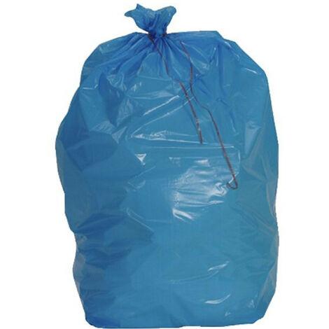 Sac poubelle 30 l bleu hd 12 micronsle carton de 500 03020459