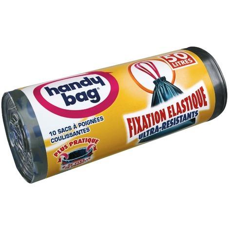 Sac poubelle fixation élastique Handy bag