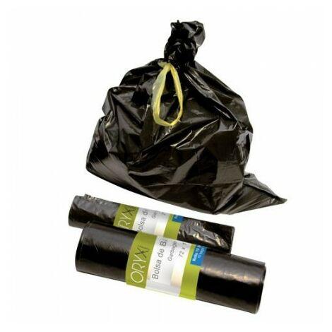 Sac poubelle grande 100 litres 72x110 cm. rouleau 10 unités