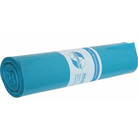 Sac poubelle Premium 120 Litres Taille 700x1100 type 60 1 rouleau 25 pcs