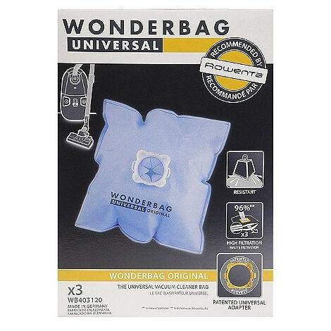 Sac synthétique wonderbag pour Aspirateur, X3