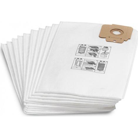 12 Sacchetto per aspirapolvere per WAP Alto Nilfisk AERO 21-01 PC INOX sacchetto per la Polvere Filtro
