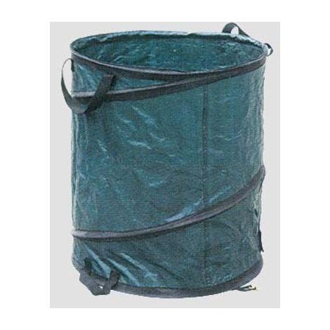 Garden Sacco Giardino e Spazzatura 90x120 cm Capacit/à 150 Lt Rotolo da 10 pezzi Colore Verde