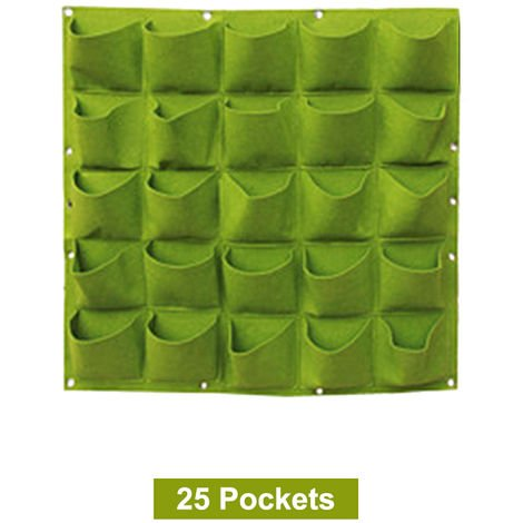 "main image of ""Sacco per piante in feltro verde 1 metro * 1 metro 25 verde GR4"""