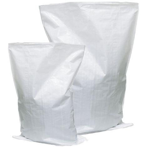 Sacco Rafia robusto riutilizzabile sintetico impermeabile raccolta olive 10pz 45x75 STI