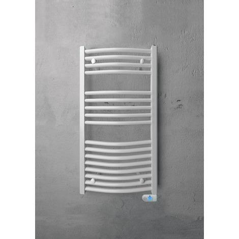 Sèche-serviette électrique Capitole 2 - cintre - blanc