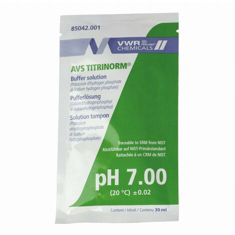 Sachet 30 ml à usage unique PH 7 AQUALUX - 106152