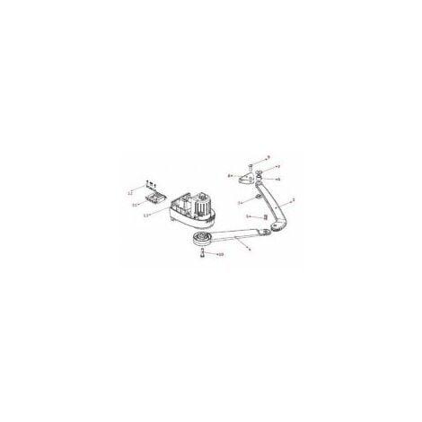 Sachet d'accessoire PASSEO 630/650 - SGA 4100/5000/6000 - AXOVIA 220SOMFY - 2509051.