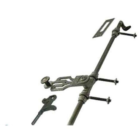 Sachet d'accessoires TORBEL pour esapgnolette de croisée - noir cataphorèse - 0560S46