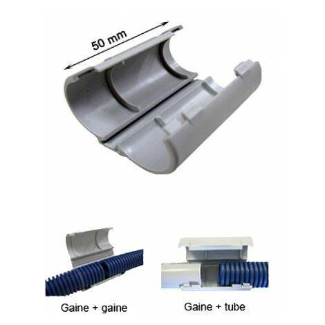"""main image of """"Sachet de 15 CONNECT-RING - Manchon de raccordement pour gaine et tube diamètre 20 mm - ING FIXATION - - A320600."""""""