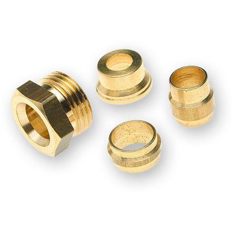 Sachet de 8 pièces Bagues souples et raccords pour équipement fioul - Watts 22L0199005