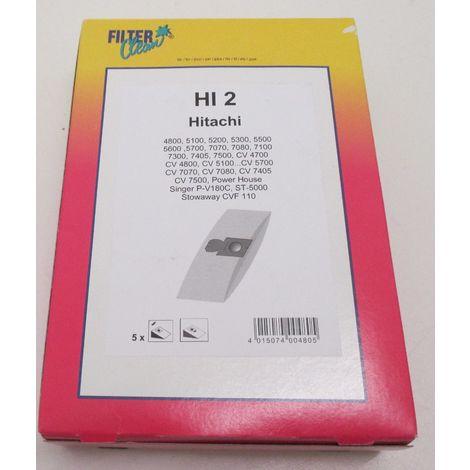 sachet de sacs + filtres pour aspirateur GOBLIN