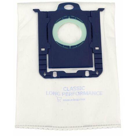 Sachet De Sacs S-bag X12 E201M Pour PIECES ASPIRATEUR NETTOYEUR PETIT ELECTROMENAGER