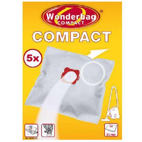 Sachet De Sacs Wonderbag Compact X5 WB305120 Pour PIECES ASPIRATEUR NETTOYEUR PETIT ELECTROMENAGER