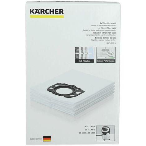 Sachet De Sacs X4 28630060 Pour PIECES ASPIRATEUR NETTOYEUR PETIT ELECTROMENAGER