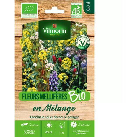 Sachet graines Fleurs Mellifères en mélange pour engrais vert BIO