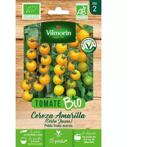 Sachet graines tomate Cereza Amarilla ( cerise jaune ) BIO