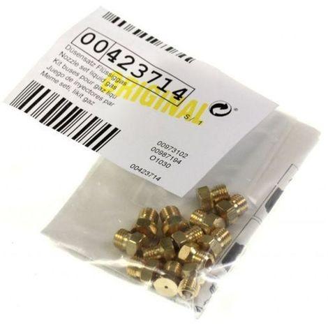 Sachet Injecteurs Gaz Butane Sans Tetine 00423714 Pour TABLE DE CUISSON