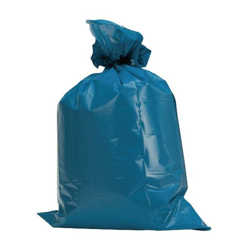 No-Name-Produkt Sac en plastique 120 l LD-PE bleu 60 µm l.700xL1100 mm