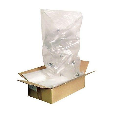 Sachet plastique PEHD 35 microns 450X600 mm