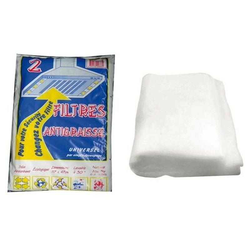 Sachet (x2) Filtres Anti-graisse.117x47c 252288 Pour HOTTE