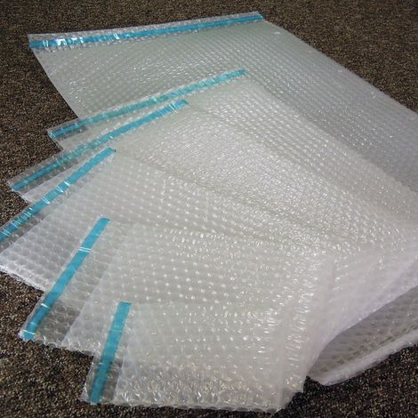 Sachets bulles d'air 100x120 mm avec rabat adhésif