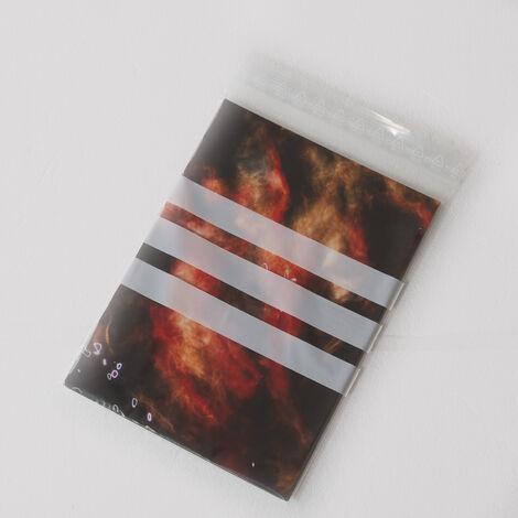 Sachets plastiques à fermeture ZIP 160x220mm + 3 bandes blanches