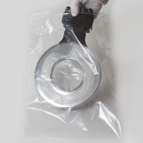 Sachets plastiques à fermeture ZIP 300x400mm standard 50µ