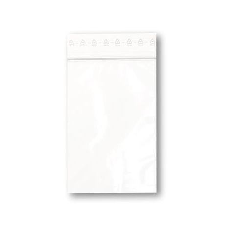 Sachets plastiques à fermeture ZIP 80x120mm standard 50µ