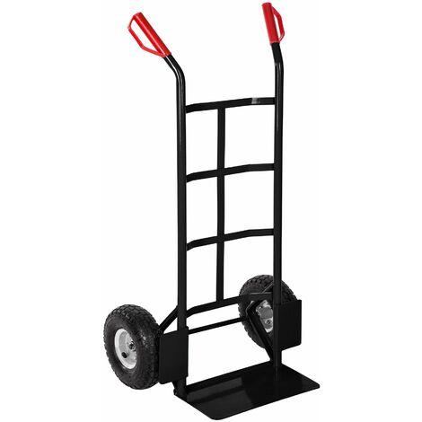 Sack barrow up to 200 kg - sack truck, sack trolley, hand truck - black