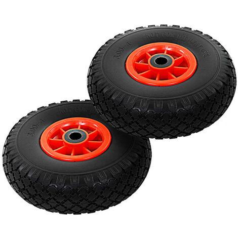 Sack Truck Wheels 2 pcs Solid PU 3.00-4 (260x85)