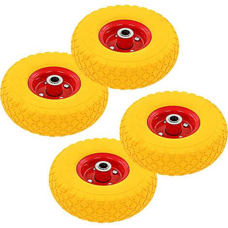 Sack Truck Wheels 4 pcs Rubber 3.00-4 (260x85)