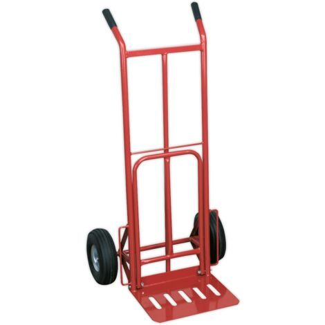 Sack Truck with Pneumatic Tyres & Foldable Toe 250kg Capacity