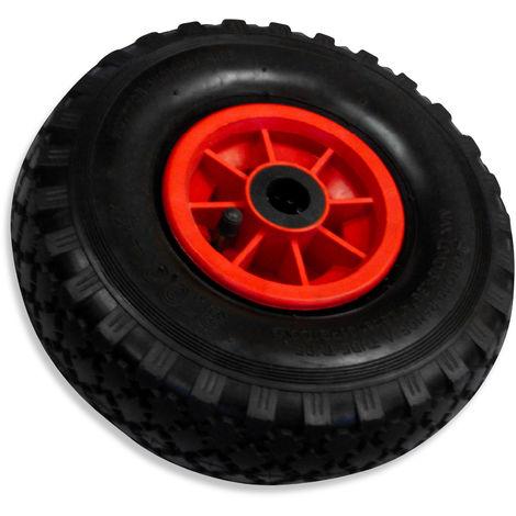 100 kg belastbar Kunststoffrad Räder 20 cm 2 Stück