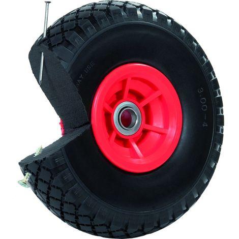 Sackkarrenrad Pannensicher 260x85 mm 3.00-4 PU Sackkarre Ersatzrad Rad Reifen
