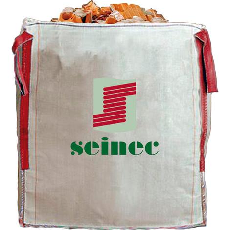 SACO BIG BAG 90X90X90 1000KG BLANCO - SEINEC - 9090903EP