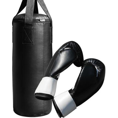 Saco de boxeo saco de arena set de guantes de boxeo montaje set de boxeo entrenamiento de boxeo lucha mma kickboxing entrenamiento ejercicio