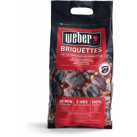 Saco de briquetas Weber 4 Kg - 17590 - Weber