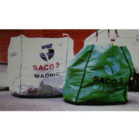 Saco Escombro Con Recogida 1000Kg Rafia Blanco Saco 3 S3-1M3