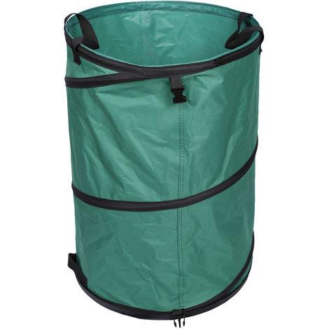Saco jardín 47x68cm Bolsa basura jardín Residuos Hierba Hojas Con suelo Mantenimiento Jardinería