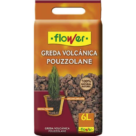 Saco Piedra Volcanica 12/18 6 L - FLOWER - 490204