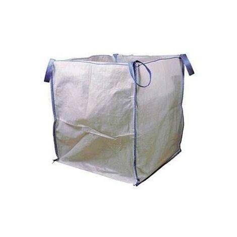 Saco Rafia para Escombros Big Bag (2 Unidade) 100X90X90cm 4 Asas