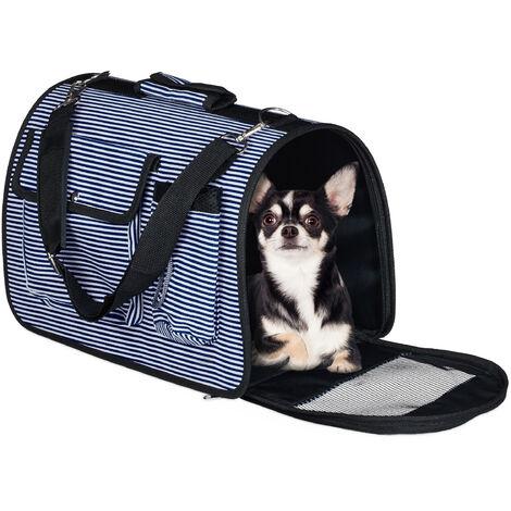 Sacs à chiens, boîte transport petits chats; jusqu'à 8 kg; accrocher; 2 poches latérales, couleurs
