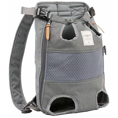 Sacs à dos pour chiens Chiens de taille moyenne Sac de transport pour chien Sac pour chien Sac de transport réglable Sac à dos pour la randonnée, les voyages, le camping