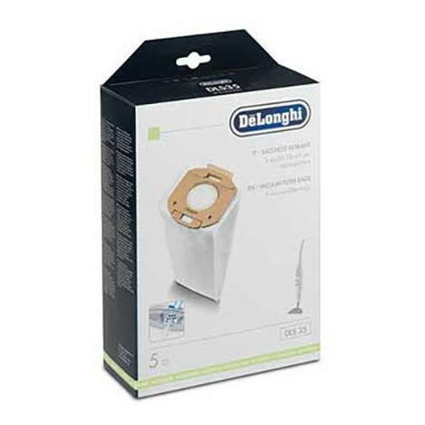 Sacs Aspirateur Dls35 X5 Et Filtre 5519210141 Delonghi