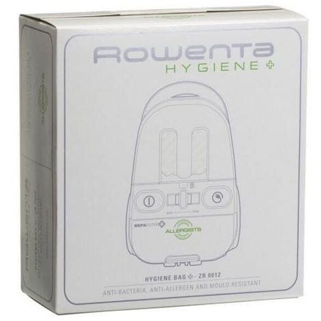 Sacs aspirateur zr001201 hygiene par 4 pour Aspirateur Rowenta