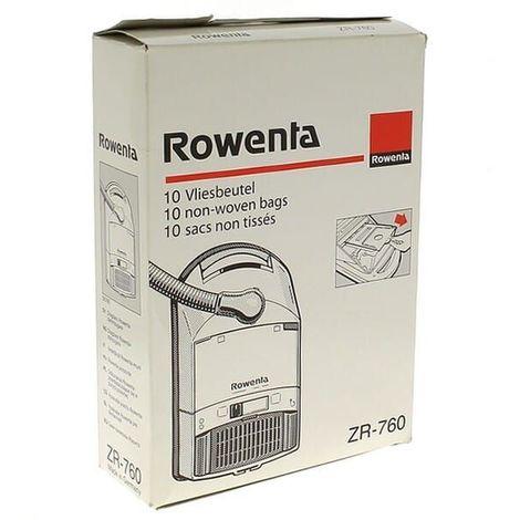 Sacs aspirateur zr760 par 10 origine pour Aspirateur Rowenta, Aspirateur Fakir