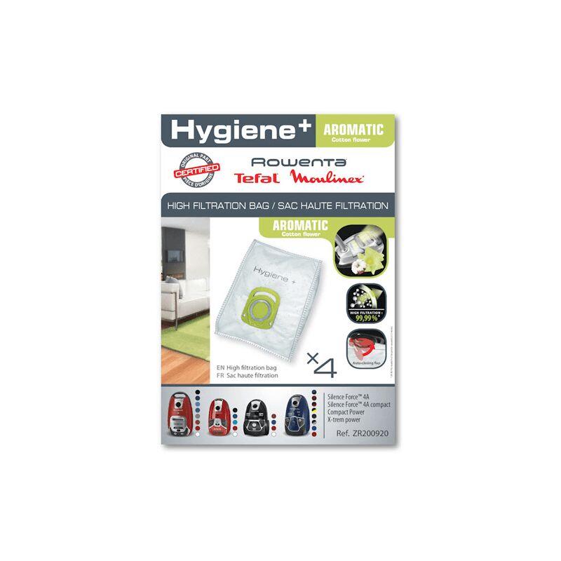 nouvelle apparence gamme exceptionnelle de styles bon marché Sacs Haute Filtration Hygiene+ Aromatic ZR200920 Pour PIECES ASPIRATEUR  NETTOYEUR PETIT ELECTROMENAGER